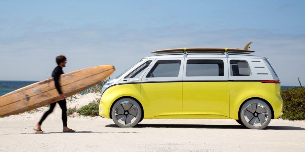 VW electric ID Buzz