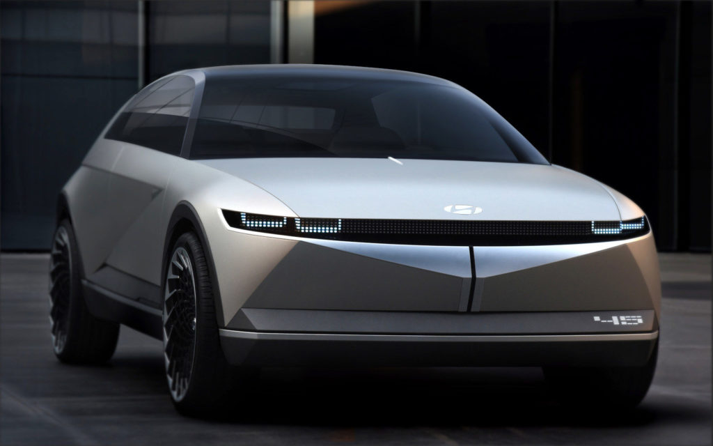 Hyundai 45 EV electric car concept