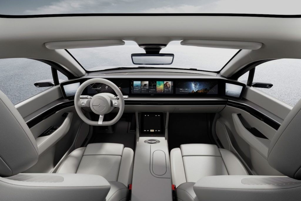 Sony Vision S electric car