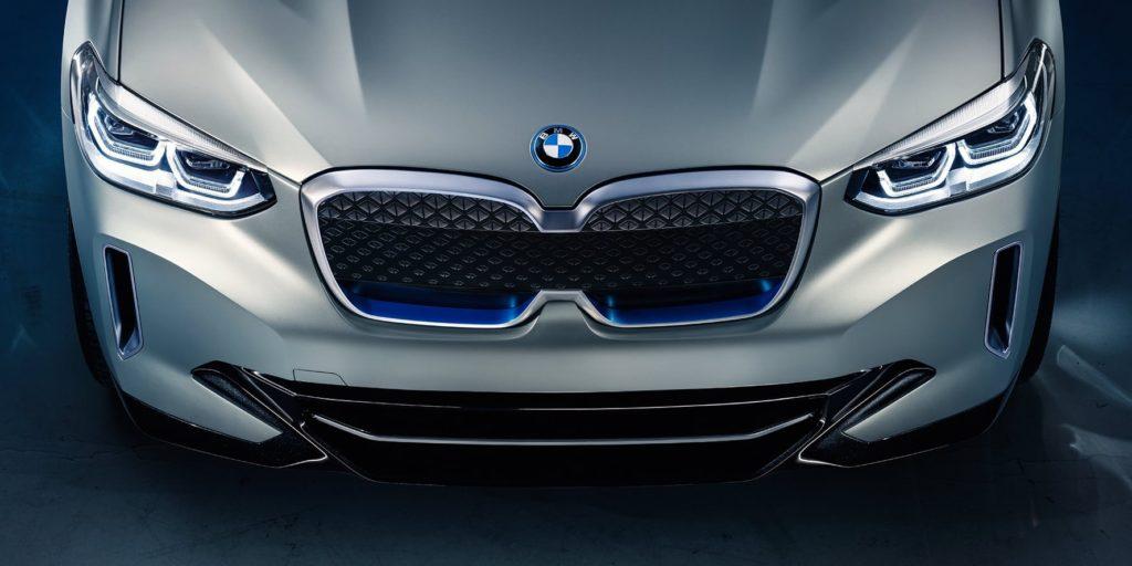 BMW iX3 all electric SUV