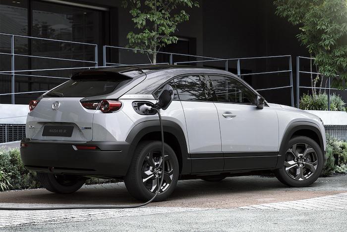 All Electric Mazda MX 30 SUV