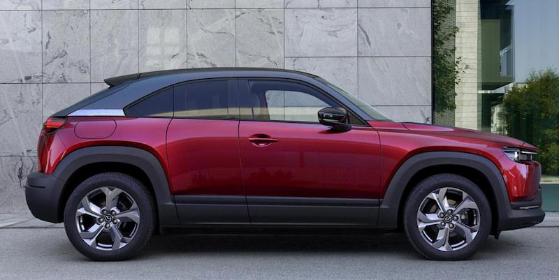 The All Electric Mazda MX 30 SUV