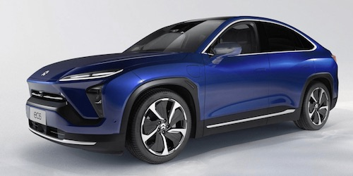 The All Electric NIO EC6 SUV