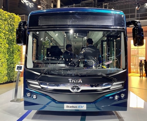 tata electric bus