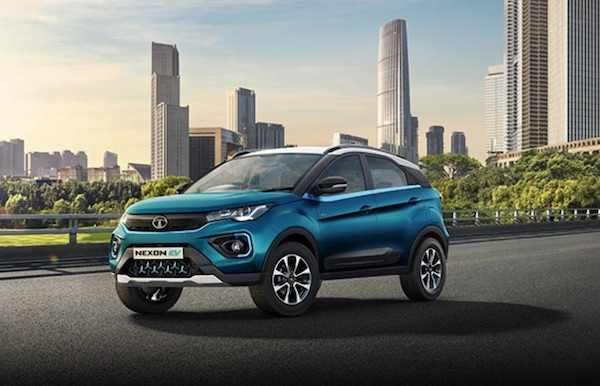 all electric Tata Nexon SUV