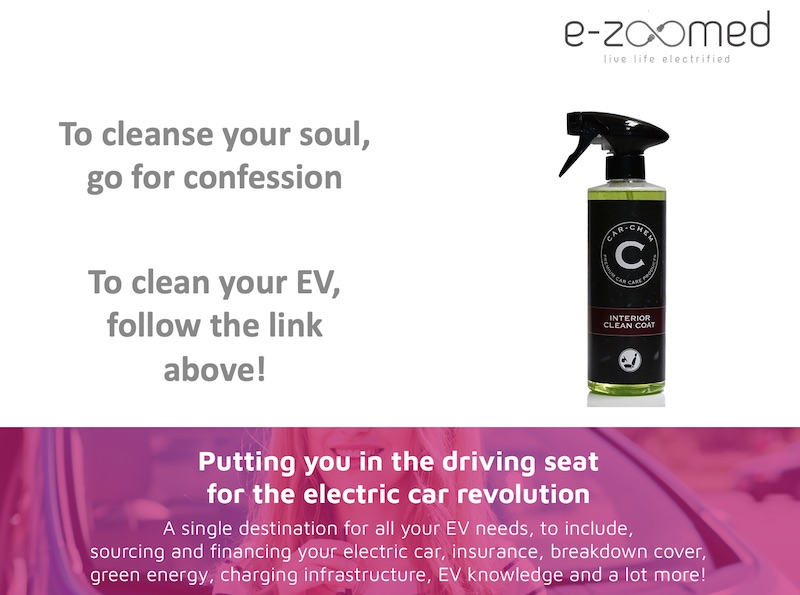Electric Car Cleaning Products