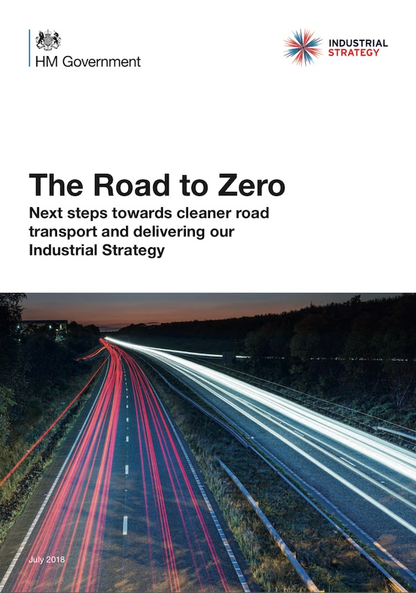 Road to zero strategy uk government