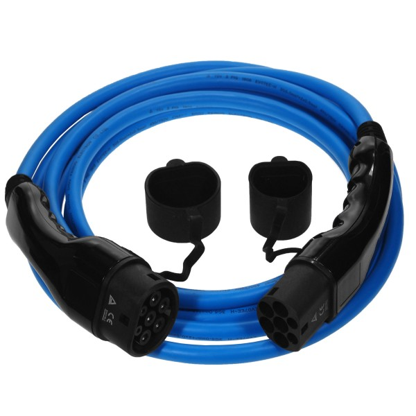 EV charging cable type 2 to type 2