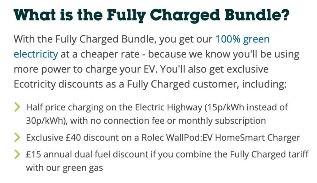 ecotricity fully charged bundle