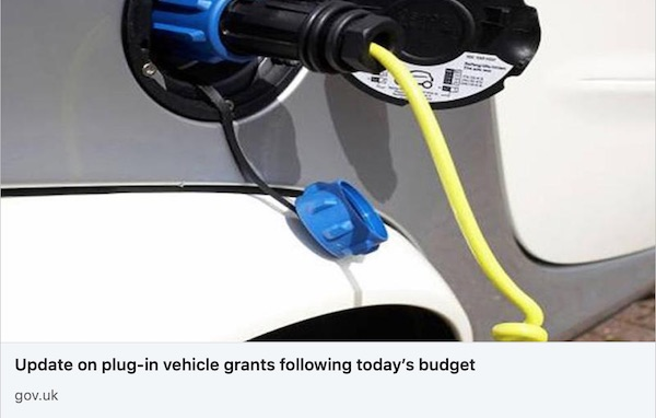 electric car grants