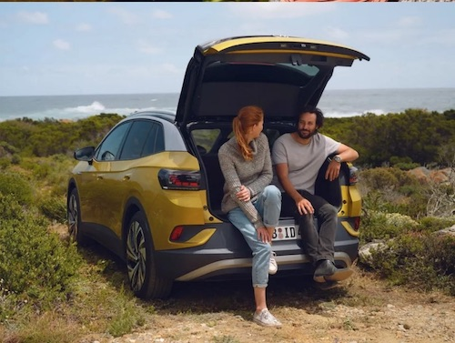 The electric VW ID 4 SUV