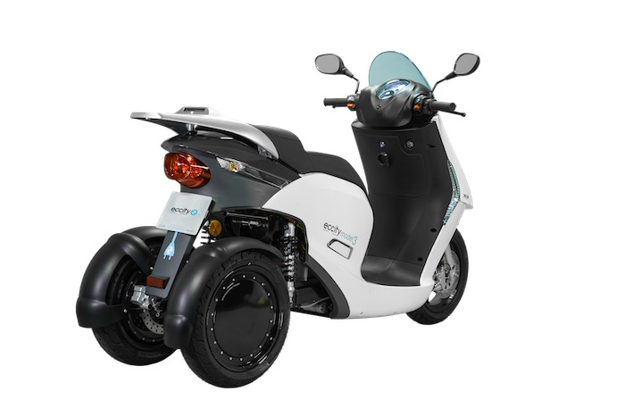 eccity electric scooter model 3
