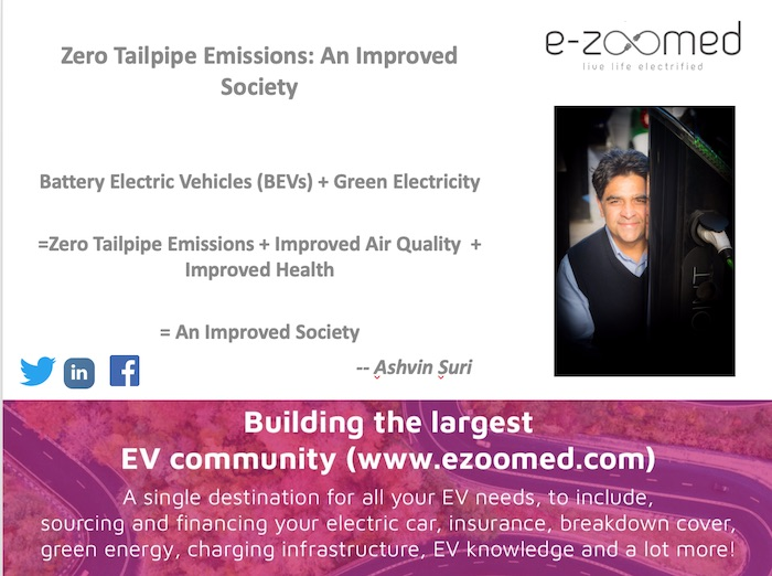 Zero-Emission Electric Driving