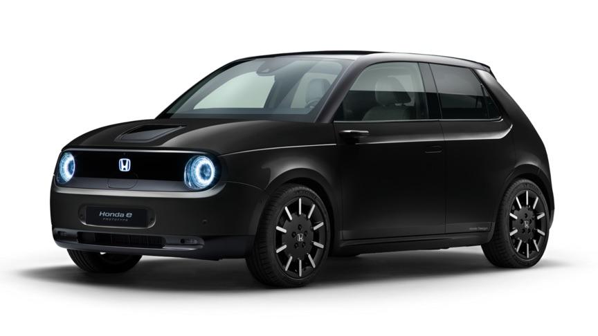 The Honda e All Electric Prototype