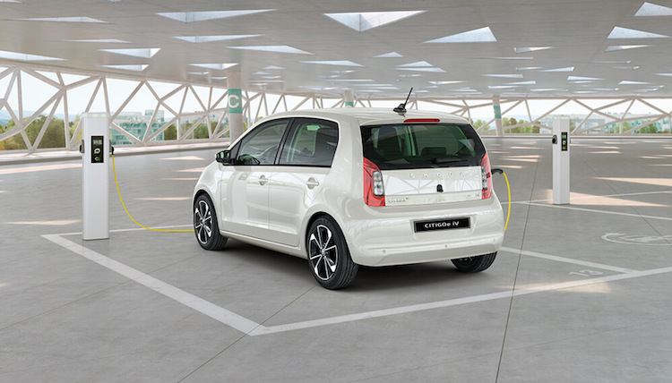 The All-Electric Citigo-e iV City Car