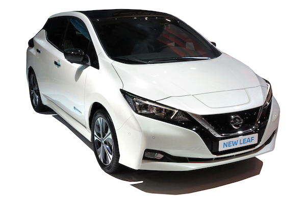 nissan leaf electric car UK