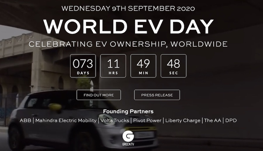world EV day
