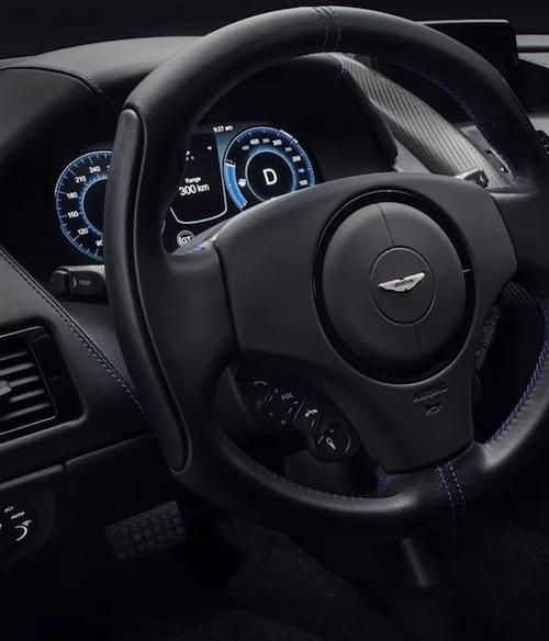 Aston Martin Rapide E All-Electric Car