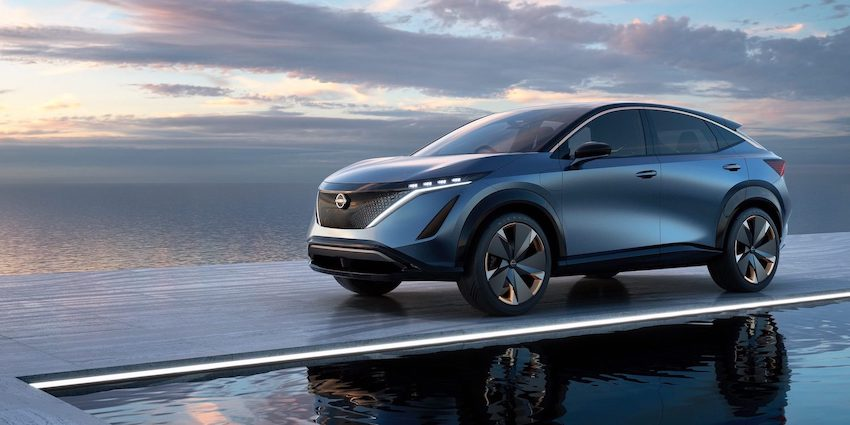 Nissan Ariya Electric Crossover Concept