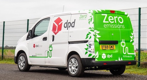 DPD electric vans