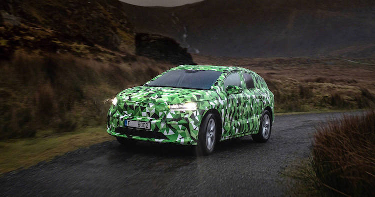 The All-Electric Skoda ENYAQ iV