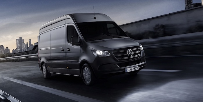 The All-Electric Mercedes Benz eSprinter Van