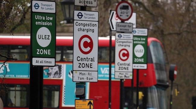 London ULEZ zone