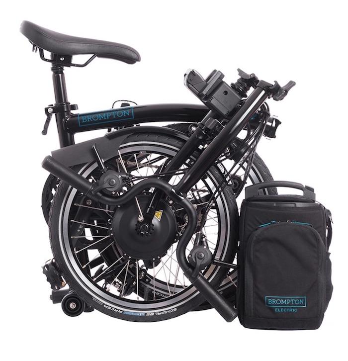 Brompton electric folding bike