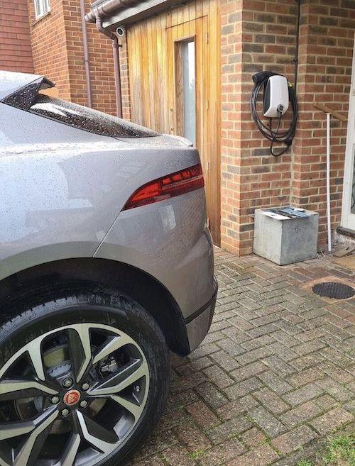 EVBox ev home charging station