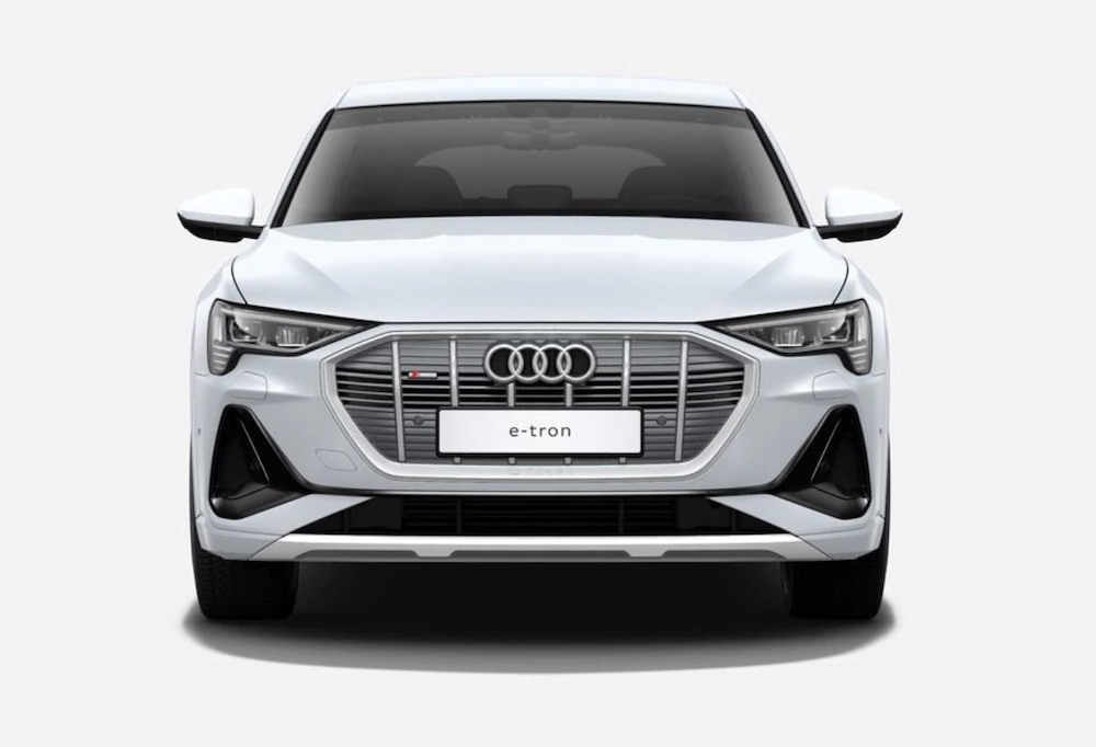 audi etron electric car