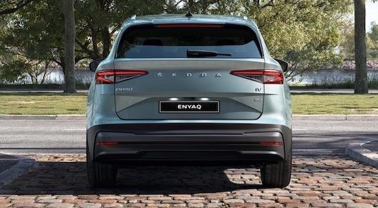 SKODA ENYAQ iV SUV BEV (credit: SKODA)