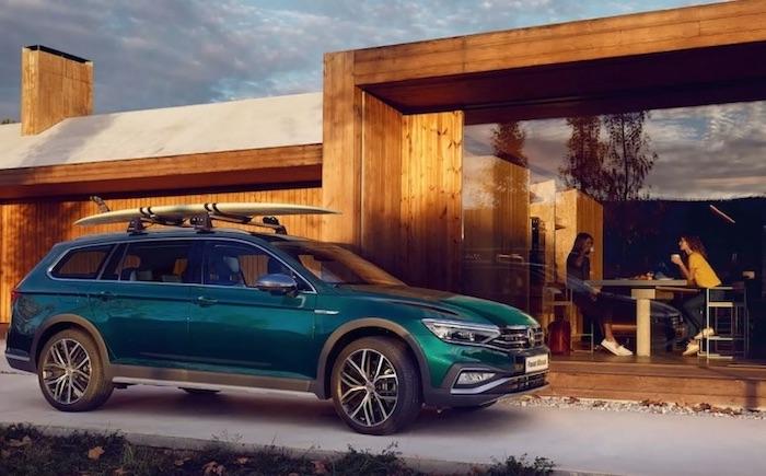 The Volkswagen Passat Estate Plug-In Electric Vehicle (