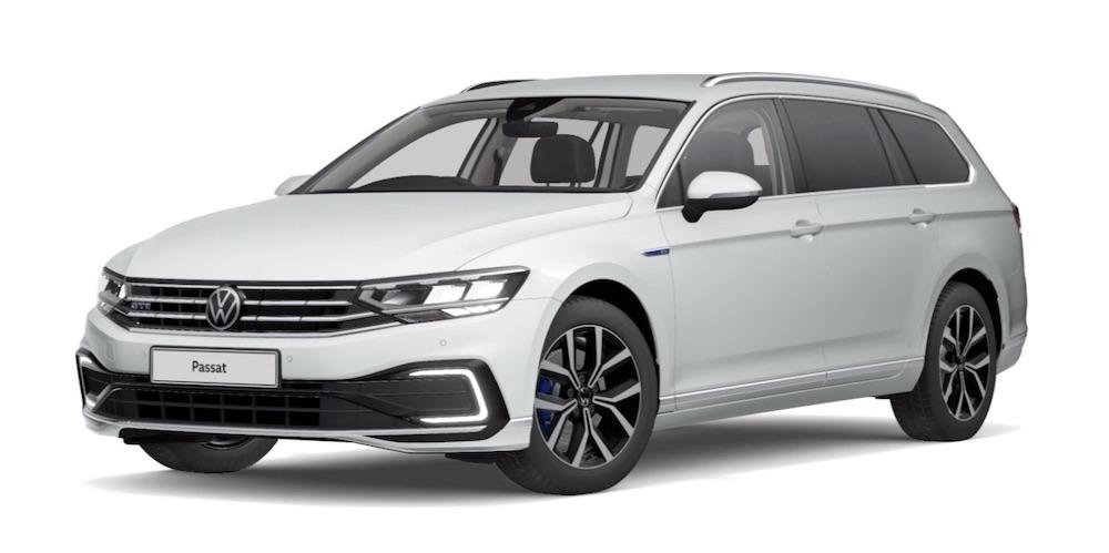 The Volkswagen Passat Estate Plug-In Electric Vehicle