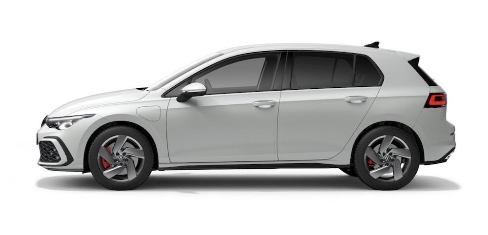 VW golf hybrid electric