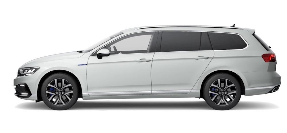 VW passat plug in electric car