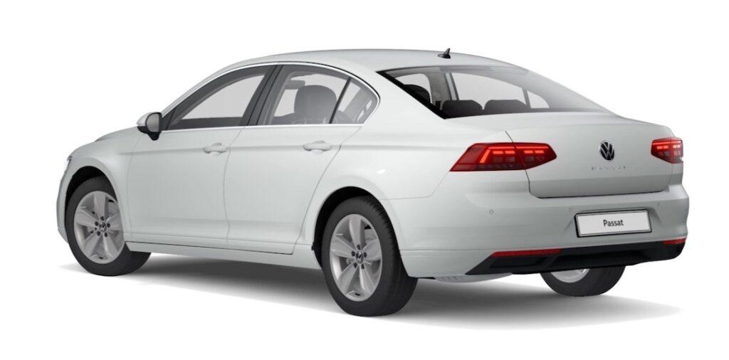 VW passat electric car