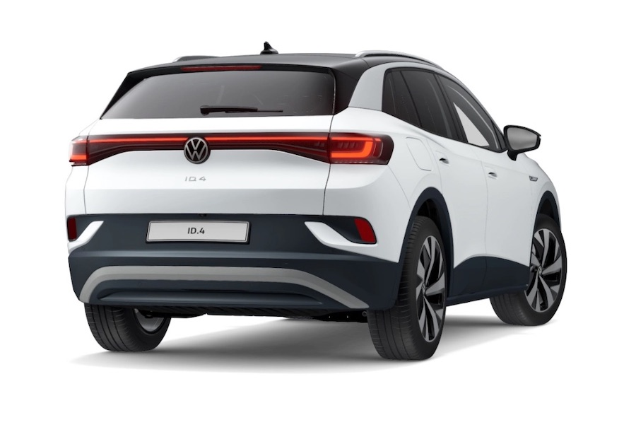 The All-Electric Volkswagen ID.4 (credit: VW)