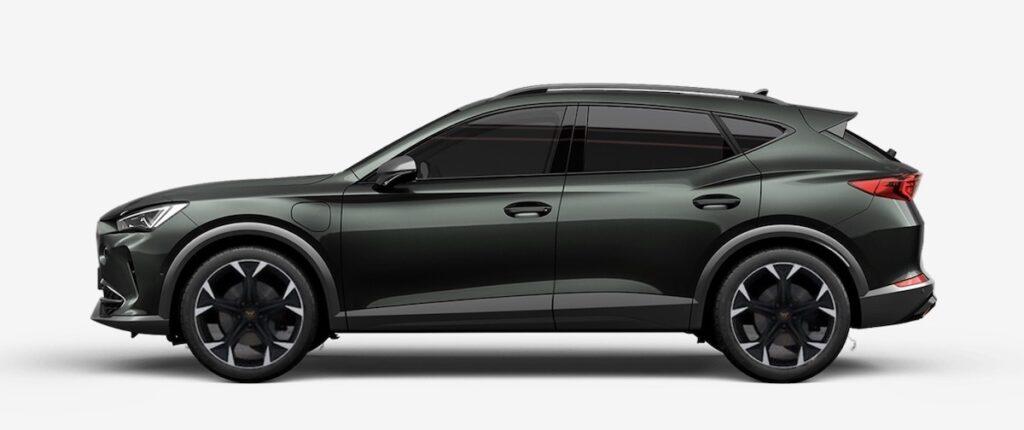 CUPRA hybrid electric car