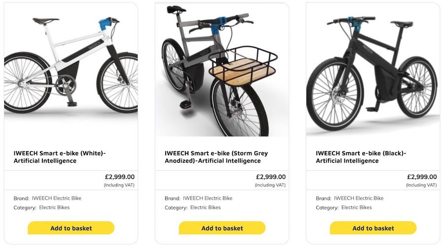 IWEECH Smart Electric Bike Available Via e-zoomed (credit: IWEECH)