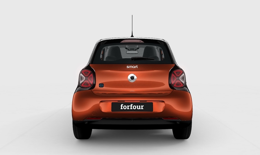 smart electric car forfour