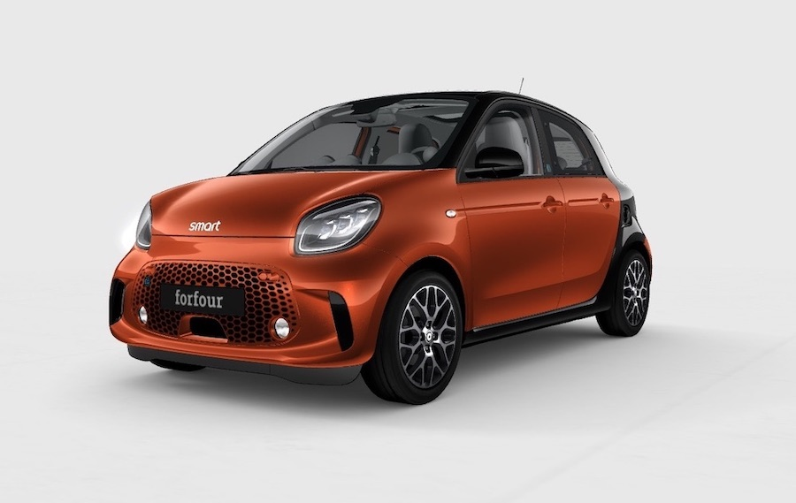 Smart EQ Forfour Electric Car