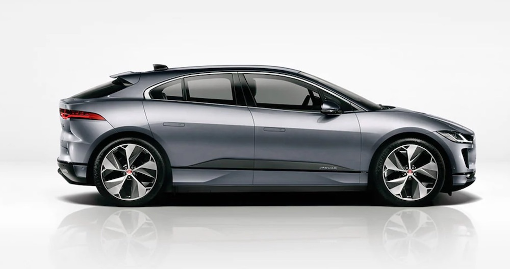 jaguar ipace electric