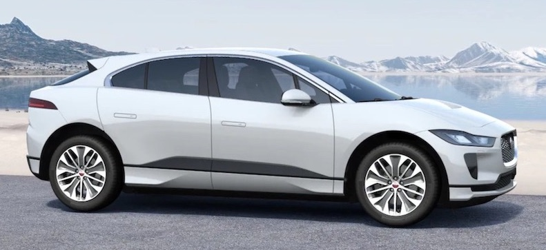 jaguar i pace electric SUV