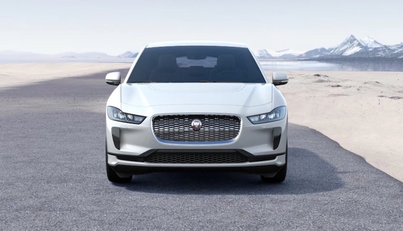 The All-Electric Jaguar I-PACE SUV