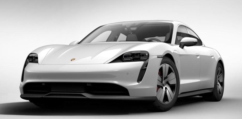 Porsche Taycan auto elettrica