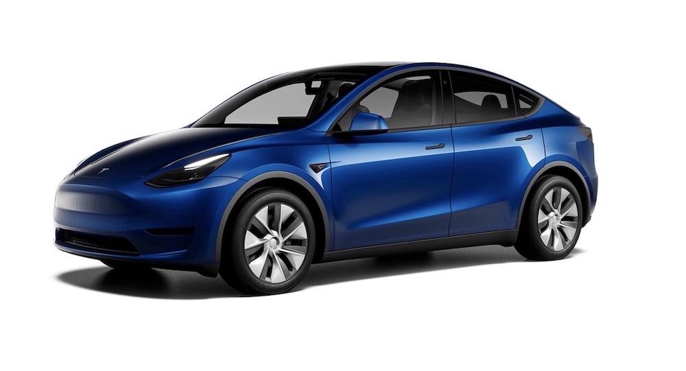 Tesla Model Y electric car