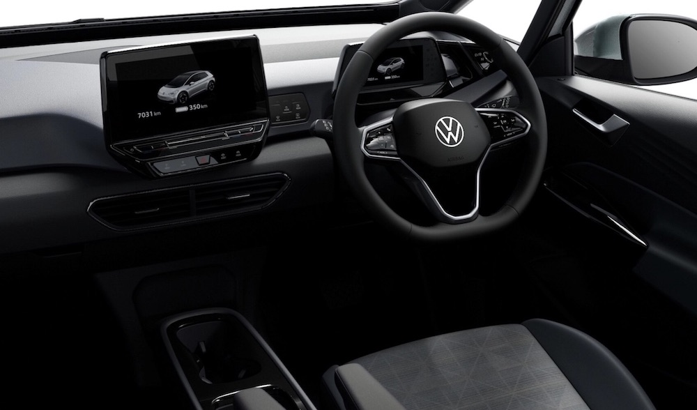 The All-Electric Volkswagen ID.3 (credit: VW)