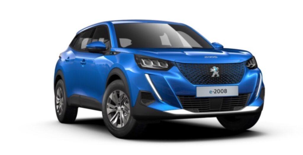Electric Peugeot e-2008