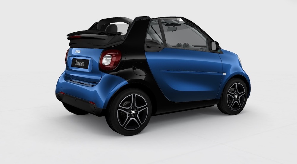 smart electric car fortwo