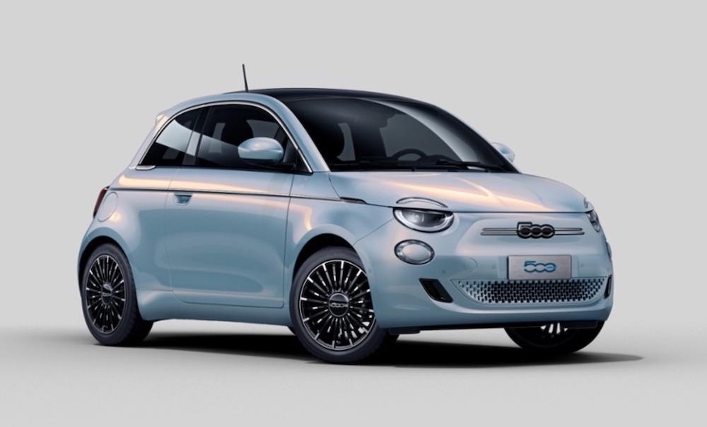 fiat electric car